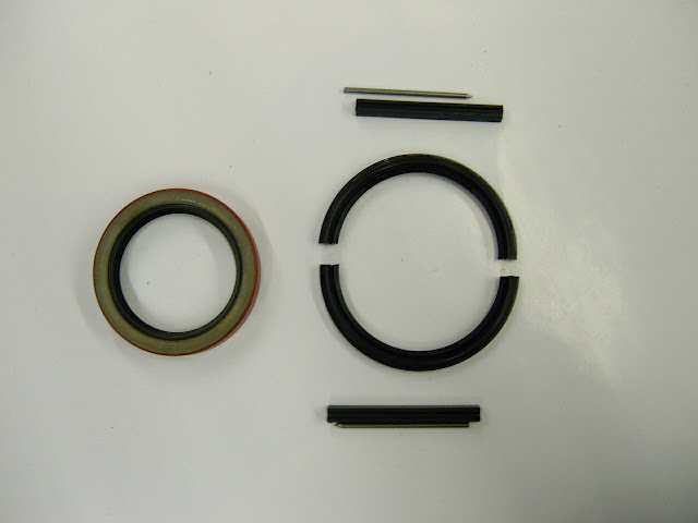 We pioneered the rubber crank seal for the Nailhead in 1982 .. 32.00 for this set