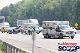 Overturned Vehicle On NYS Thruway  Near Toll Plaza (Moshe Lichtenstein) - IMG_5791.JPG
