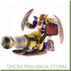 ninja storm  lightening megazord