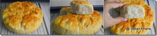 Ladi Pav bread white dinner rolls recipe