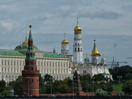 Obiective turistice Moscova: Kremlin