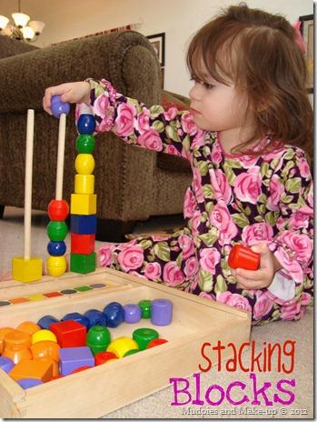 Olivia Stacking Blocks