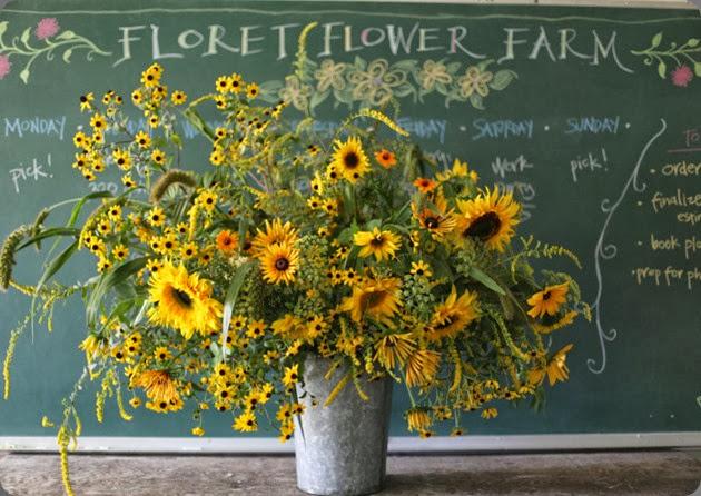 sunflower 9711324301_891dae6d1d_b floret flower farm