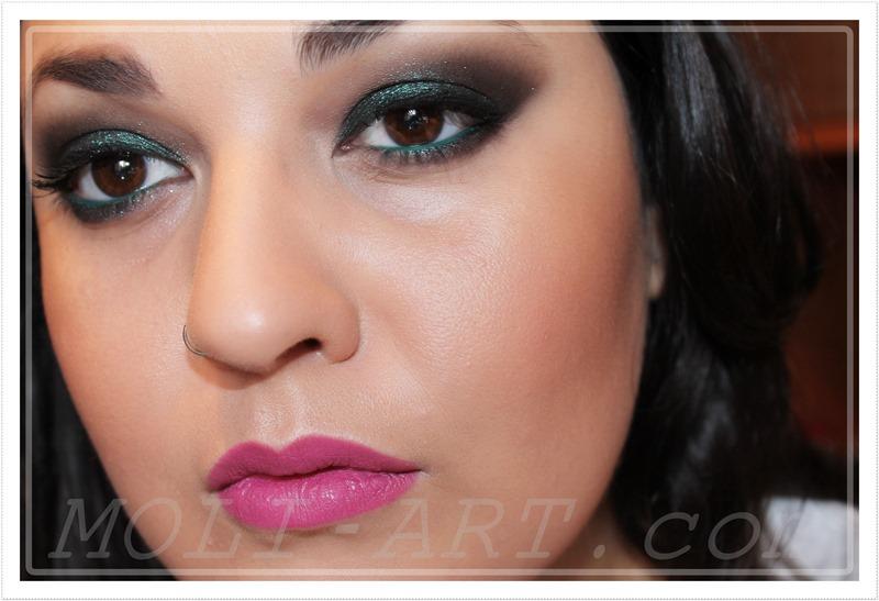 maquillaje-navidad-2014-tonos-verdes