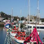 St-Vaast: Fête de la mer 2010 (3), Le port