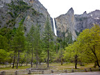 Waterfalls,Yosemite Valley, CA, USA