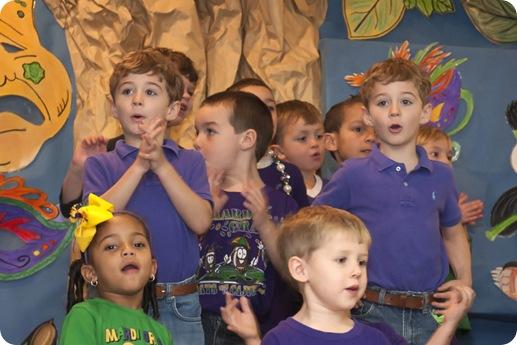 singing twins