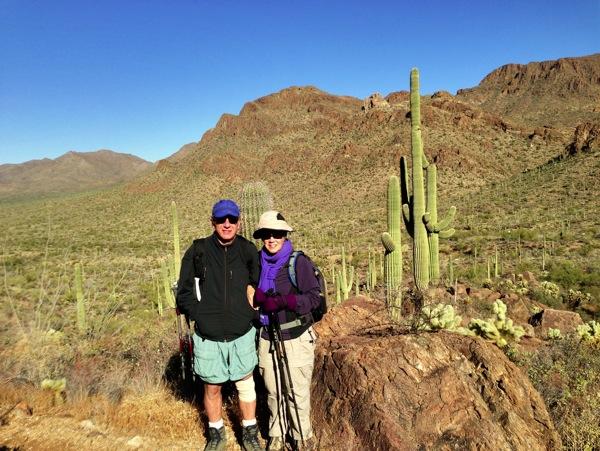 Tucson Mountains Above the Desert Floor