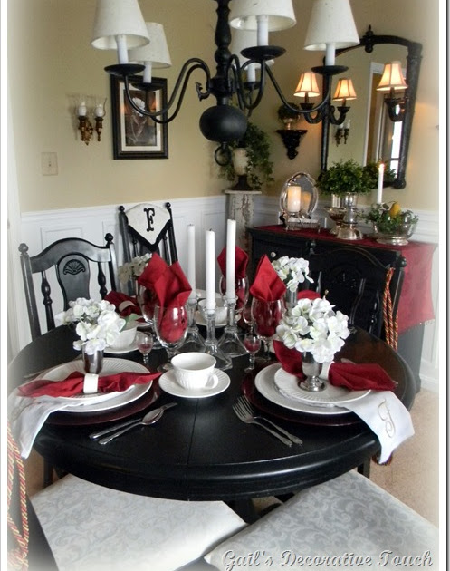Gail s decorative touch dining room and salvation army silver for K and t dining 98 inc
