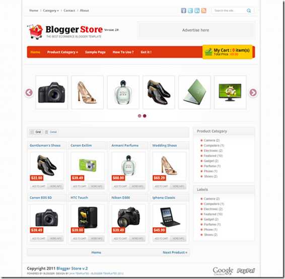 Bloggerstore-Full-Screenshot