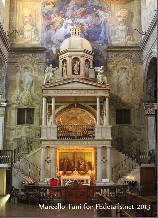 Marcello Tani for FEdetails.net - Santa Maria in Vado, Cappella del Prodigio, Ferrara - Santa Maria in Vado, Chapel of the Miracle, Ferrara, Italy