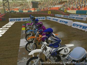 yamaha supercross screenshot 2