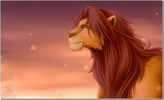 El Rey León,The Lion King,Simba (6)
