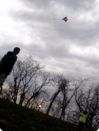 Flying a Kite
