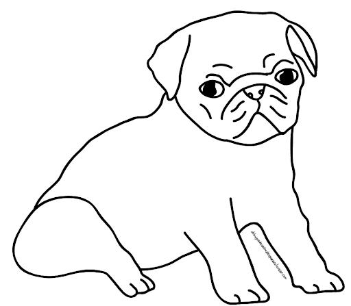 Dibujos de perros para colorear | Manualidades Infantiles