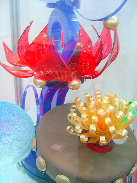 2010烘培展拉糖工藝蛋糕比賽亞軍特寫