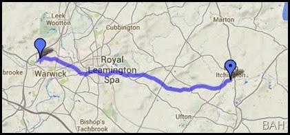 map warwick
