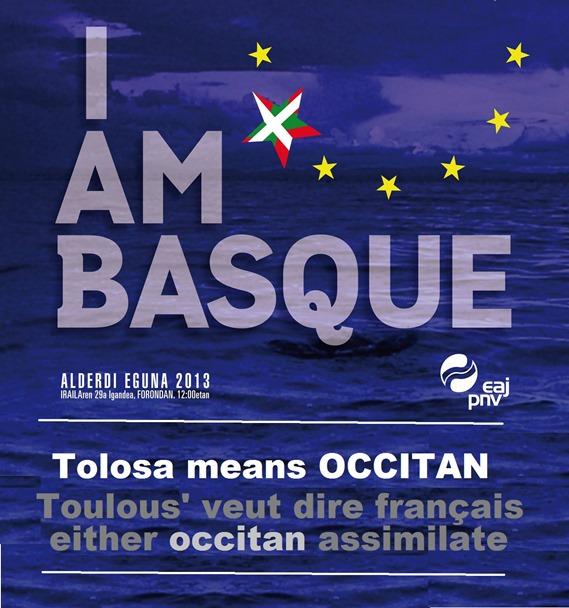 I'am basque EAJ