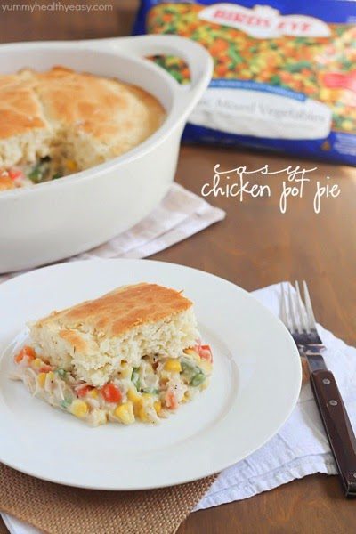 Yummy Healthy Easy Easy Chicken Pot Pie