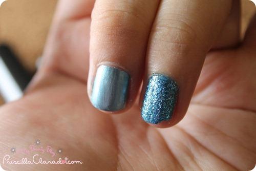 Faceshop Nail Polish Blue 4