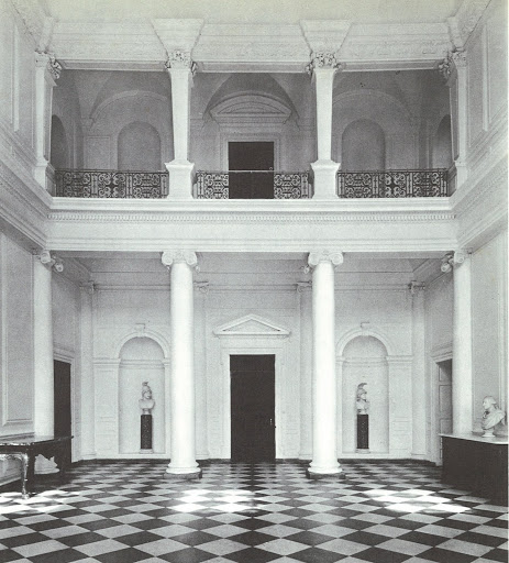 The entrance hall of the Castletown, designed by Sir Edward Lovett Pearce.