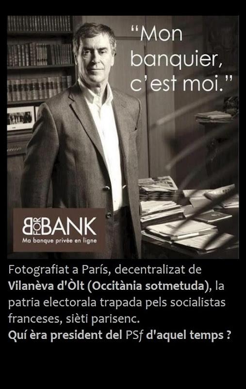 Jérôme Cahuzac e los banquièrs