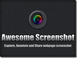 awesome screenshot plugin for Google Firefox