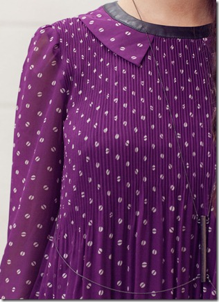 VM pleated purple top2