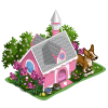 cupcake doghouse