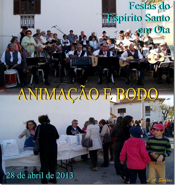 Festas Esp. Santo em Ota - Anim. e Bodo - 28.04.13