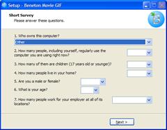 Beneton Movie GIF - survey