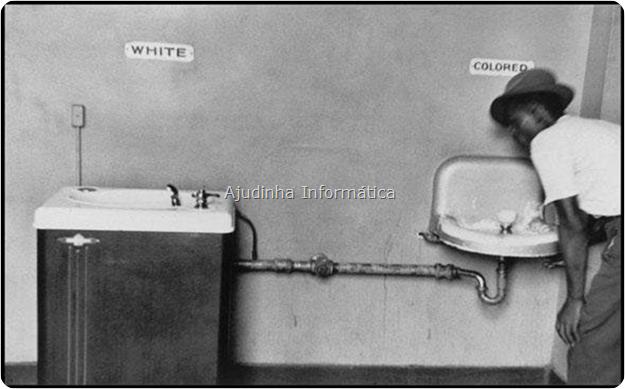 Mais uma cena triste do preconceito americano contra negros.