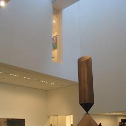 Broken Obelisk by Barnett Newman, 1963-9Cor-ten steel.MOMA New York, NY.