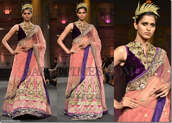 Vikram_Phadnis_Pink_Lehenga
