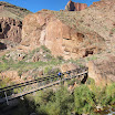 N Kaibab Trail - Ribbon Falls Bridge