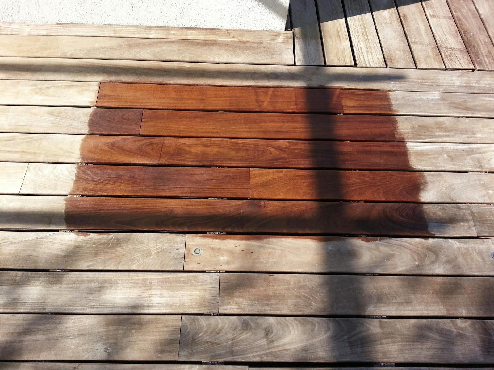 econet83 d capage sablage basse pression r novation terrasse en bois exotique. Black Bedroom Furniture Sets. Home Design Ideas