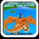 Viagem Pokémon - Ash e Charlizard