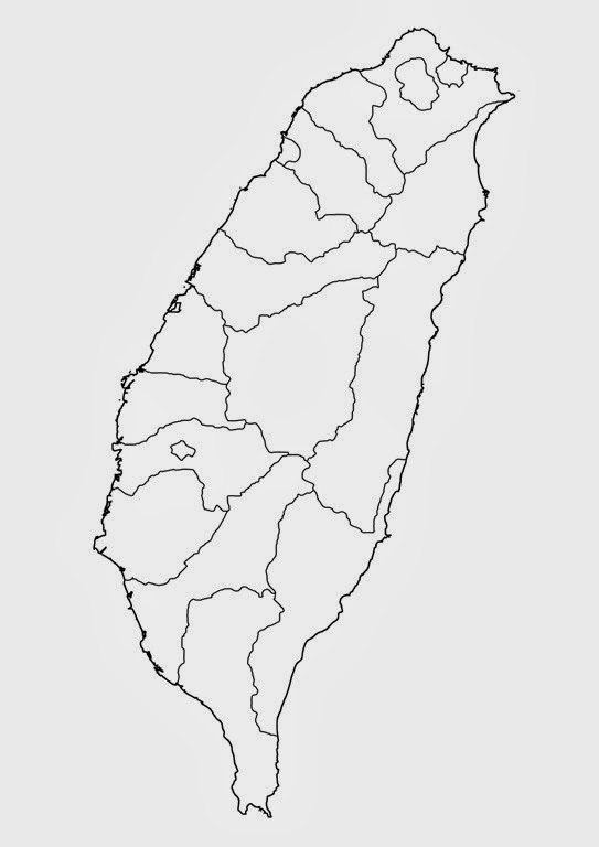 taiwan-black-white-outline-no-labels-counties