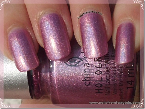 China Glaze HoloGlam Collection Astro Hot
