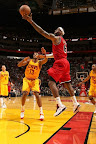 lebron james nba 130224 mia vs cle 10 LeBron Debuts Prism Xs As Miami Heat Win 13th Straight