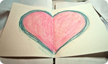 Colored-heart