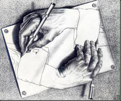 Escher Hands