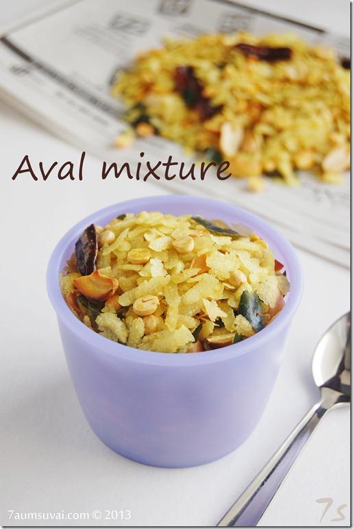 Aval mixture / Poha mixture