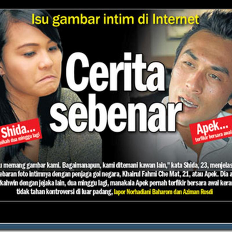 Isu Khairul Fahmi Che Mat @ Apek : Gambar lama dan gantung but !