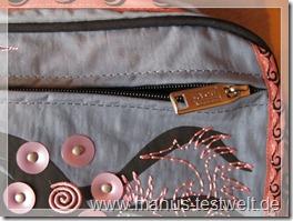 Rucksack Muster Verschluss