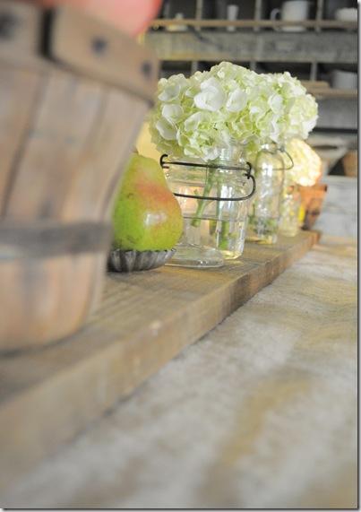 barnwood on table