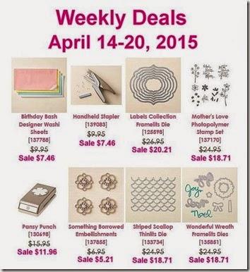 weekly deals April 14th