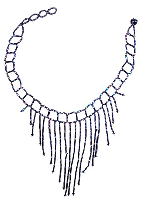 Beads jhalar necklace