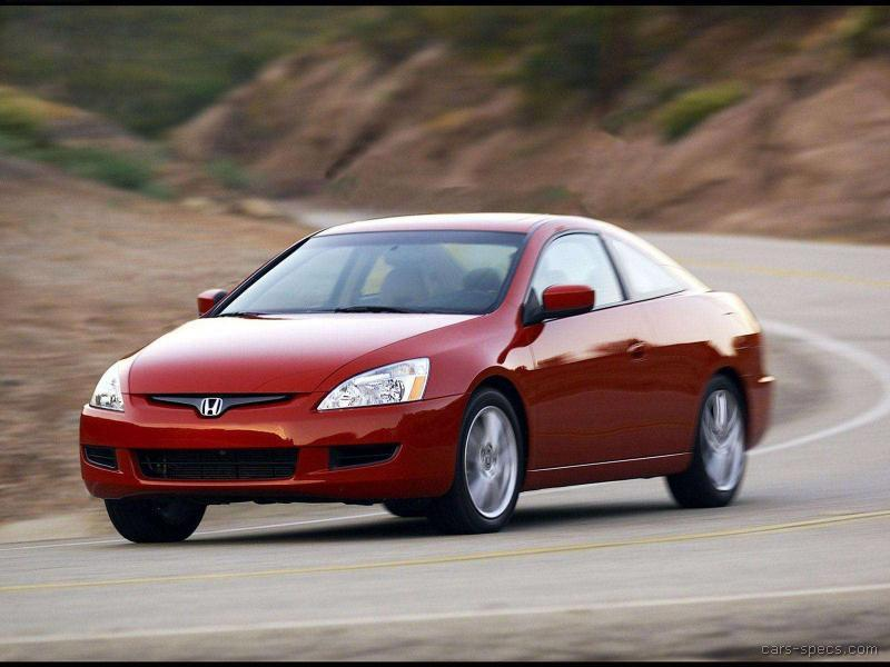 2005 honda accord coupe specifications pictures prices. Black Bedroom Furniture Sets. Home Design Ideas