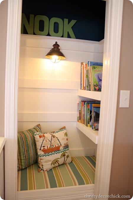 book nook closet
